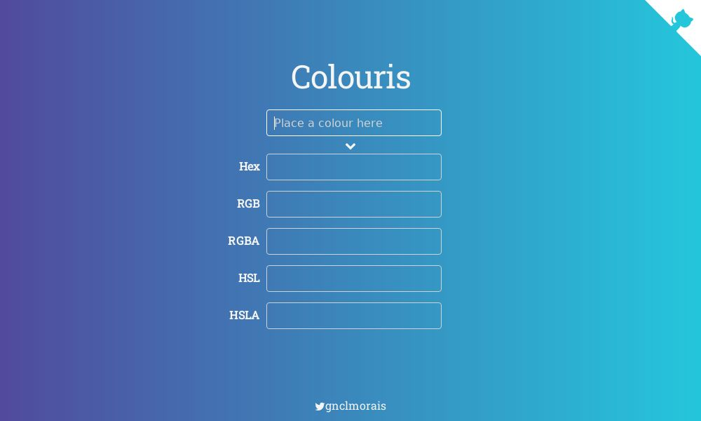 Screenshot of Colouris