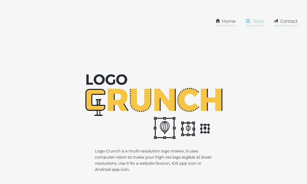 Screenshot of Logo Crunch
