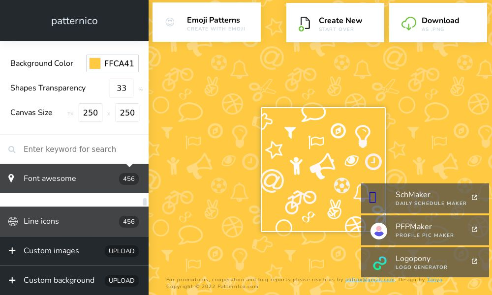 Screenshot of patternico
